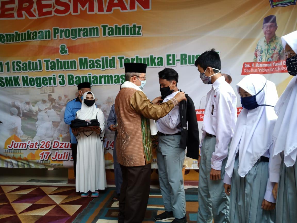 SMK3 Banjarmasin Luncurkan Program Tahfidz