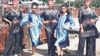 Pengrajin Sasirangan Balangan Ikut Gelaran Fashion Show