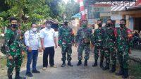 Anggota TNI Baru Perkenalkan Diri ke Desa di Wilayah Kecamatan Dusun Tangah