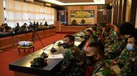 Korem 101/Antasari Selenggarakan Latihan Posko I