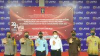Gandeng Forkopimda, Lapas Kelas IIB Banjarbaru Gelar Deklarasi Janji Kinerja Tahun 2021