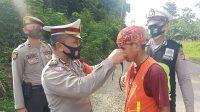 Satlantas Polres Bartim Kembali Sosialisasikan Prokes
