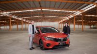 Tampilan Desain Sporty, Fitur Kekinian dan Tenaga Besar, Honda City Hatchback RS Hadir di Banjarmasin