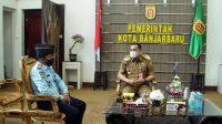Jalin Sinergi, Kalapas Banjarbaru Silaturahmi dengan Walikota Banjarbaru