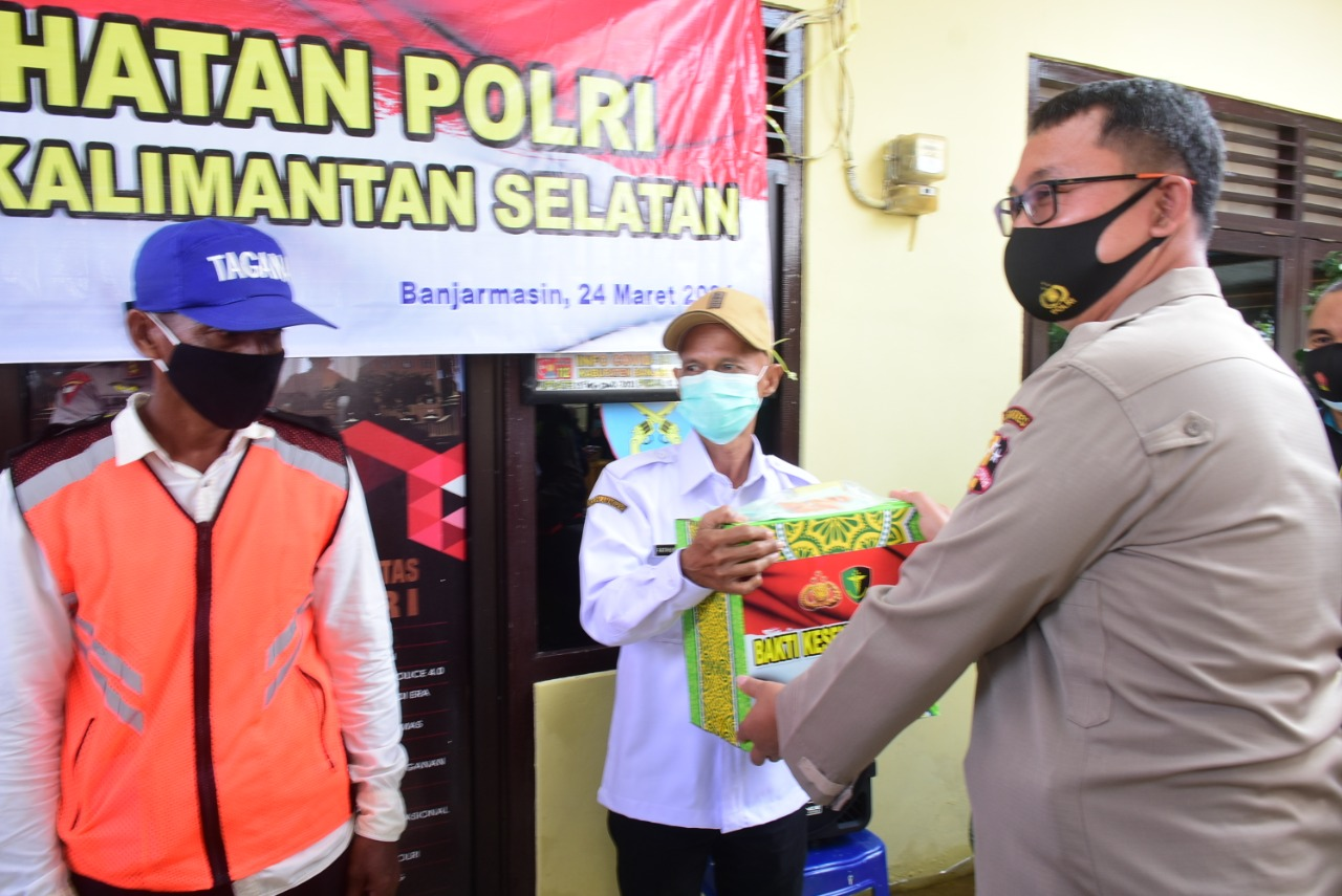 Pusdokkes Polri Gelar Bakti Kesehatan di Kabupaten Banjar