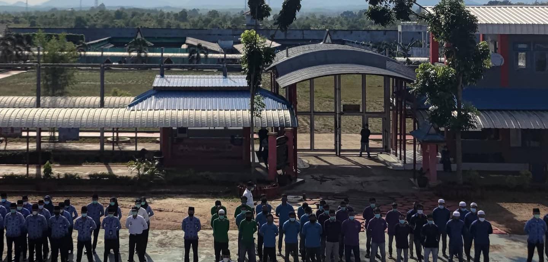300 Warga Binaan Lapas Banjarbaru Ikut Assessment Program Rehabilitasi Sosial