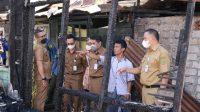 Pemkot Banjarmasin Salurkan Bantuan Kebakaran