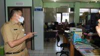 H Mukhyar Pantau Hari Pertama Masuk Kerja ASN Pemkot Banjarmasin