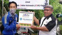 PT Pelindo III Banjarmasin Berbagi Sembako Kepada Puluhan Jurnalis