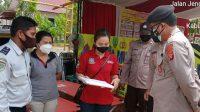 Polda Kalteng Tinjau Pos Penyekatan Perbatasan di Bartim