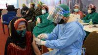 Serbuan Vaksinasi TNI Kembali Digelar di Duta Mall
