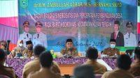 Bupati Tanbu Apresiasi UsulanKades dalam Silaturahmi di Kusan Hulu