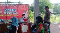 Polres Bartim Kembali Gelar Pelayanan Vaksinasi dengan Target 500 Peserta